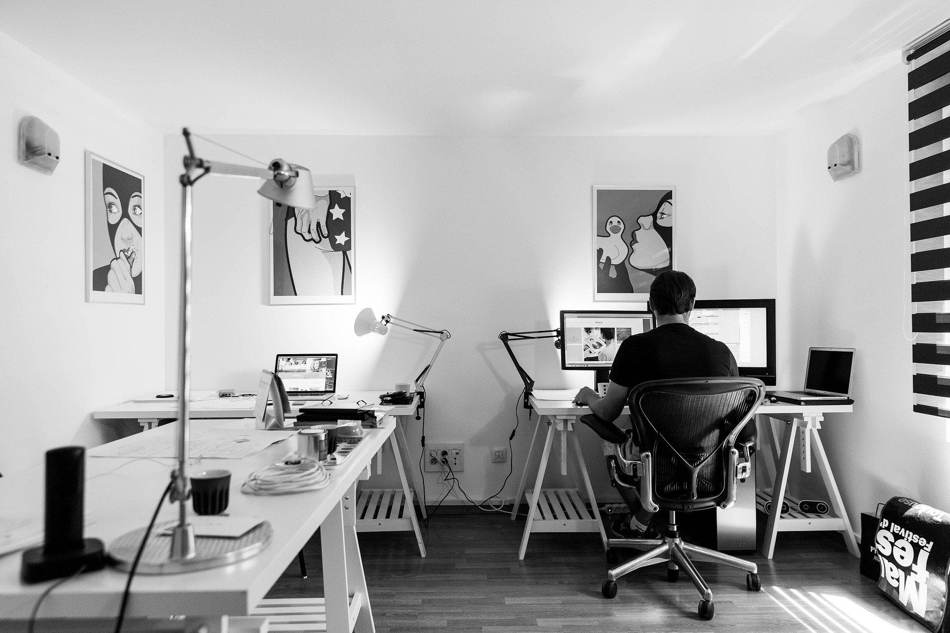 Endomarketing home office