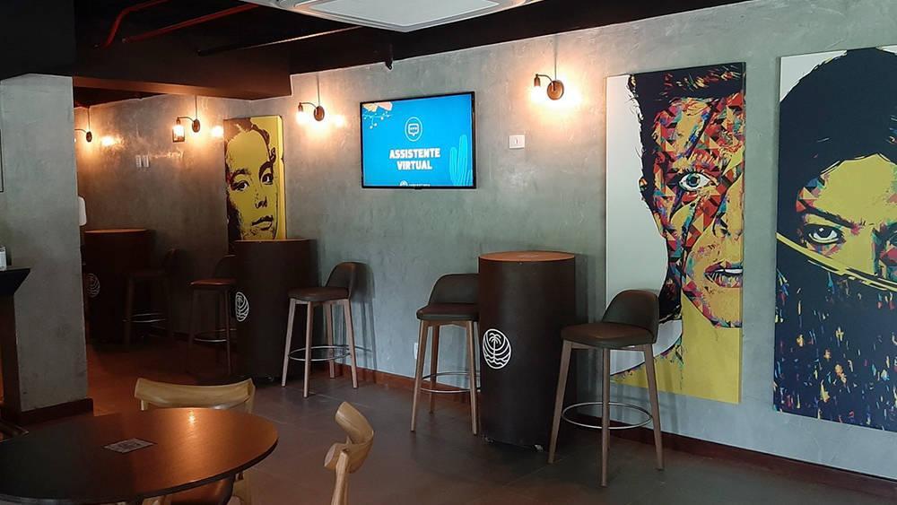 Sinalização digital no Japaratinga Resort