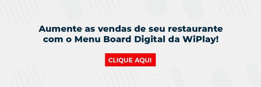 Conheça o Menu Board Digital da WiPlay